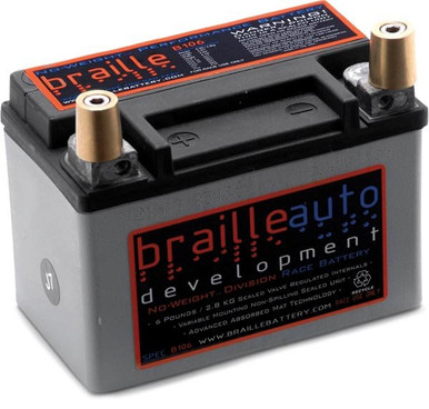 Braille B106 Ultra lightweight race only Battery