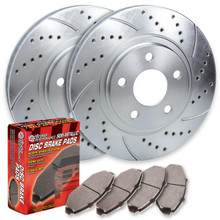 Nissan Versa Piercemotorsports Front Rotor Kit