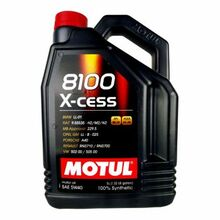 Motul 8100 X-cess 5w-40 Synthetic Motor Oil