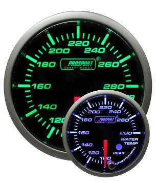 PROSPORT 52mm Premium Water Temperature Gauge