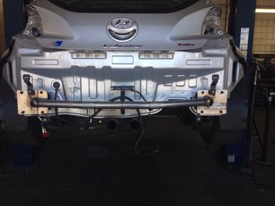 2012-2018 Hyundai Veloster Rear Tubular Crashbar
