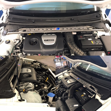 2017-2018 Hyundai Elantra Sport Cromoly Strut Brace