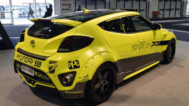 2012 2018 Veloster Turbo Egr Style Carbon Fiber Wide Body Kit