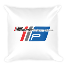 Piercemotorsports Team Square Pillow