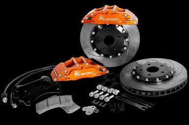 2013-18 Veloster Turbo Ksport Front and Rear Big Brake Package