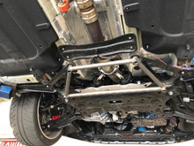2019 Hyundai Veloster Piercemotorsports 4 point Lower Chassis Brace