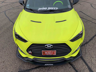 2013-2018 Veloster Turbo Aerotekk Track Splitter (For NEFD front lip)
