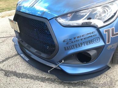 2013-2018 Veloster Turbo Aerotekk Front Track Splitter