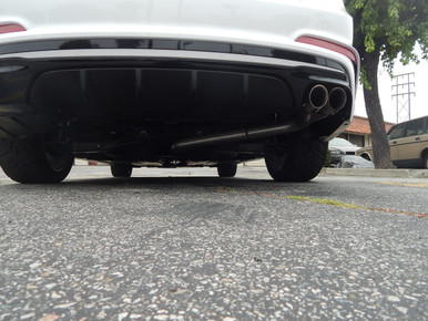 2019-2020 Elantra Sport Stainless Axle Back Exhaust