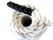 "2"" Thick Battle Rope with Shrink End Handle"