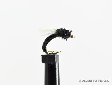 Black Sparkle Wing Midge Emerger