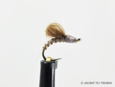 Grey CDC Loopwing Emerger