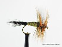 Hair Wing Green Drake