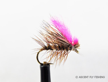 Tan Hi-Vis Elk Hair Caddis