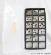 Loaded Midge Fly Box
