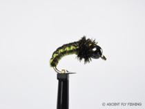 Beadhead Woven Green Caddis Larva