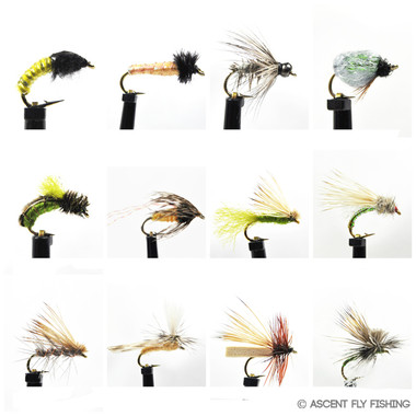 Deadly Dozen Caddis Selection