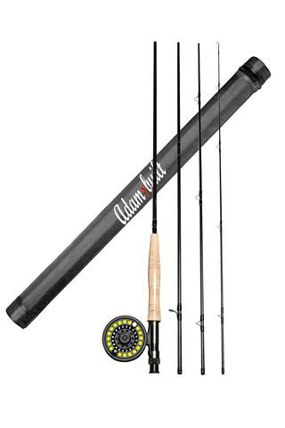 Learn To Fly Fish Rod Reel Combo Ascent Fly Fishing