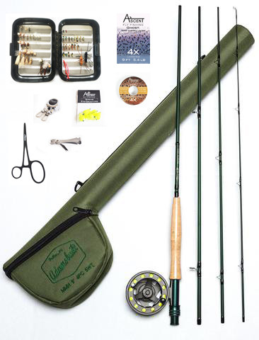 Mmh Fly Rod Reel Combo With Starter Kit Ascent Fly Fishing