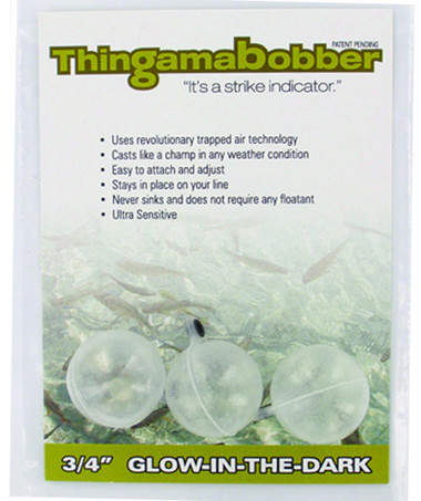 Glow in the Dark / Clear Thingamabobber Strike Indicators