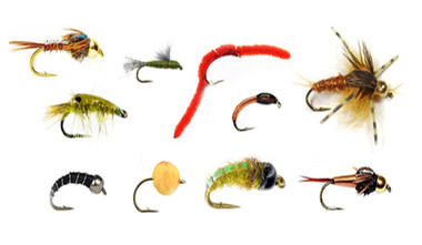 Mixed Dozen Nymph & Wet Fly Selections