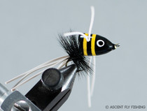Walt's Small Slider - Black & Yellow Stripped