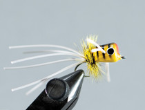 Walt's Medium Popper - Yellow Bee