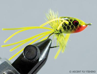 Walt's Medium Slider - Chartreuse Fish Scale