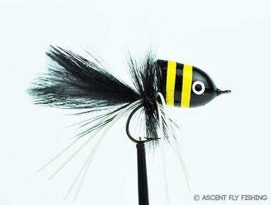 Walt's Large Slider - Black & Yellow Stripe
