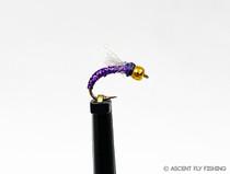 Purple Beadhead Holo Midge
