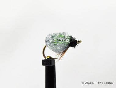 Olive Sparkle Caddis Pupa