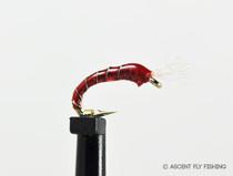 3D Epoxy Bloodworm