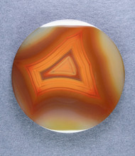 Top shelf Orange Condor Agate Designer Cabochon-   #14730