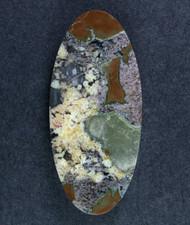 Amazing Priday Plume Agate Designer Cabochon  #15070