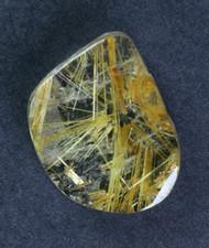 Fantastic! Rutilated Quartz Cabochon -w- Golden Needles #15422