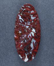 Rare Lavic Siding Red Moss Agate Designer Cabochon  #16085