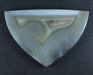 Gorgeous Lucky Strike Banded Agate Collectors Cabochon  #17185