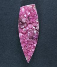 Sparkling Bright Pink Cobocalcite druzy Gemstone  #17292