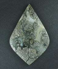 Gorgeous!! Nipomo Marcasite Agate Designer Cabochon  #17343