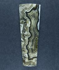 Old School Black Crazy lace Agate Cabochon-   #17418