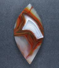 Top shelf Orange Condor Agate Designer Cabochon-   #17486