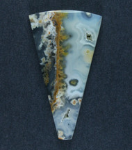 Fantastic Eagle Rock Moss/Plume Agate Cabochon  #17505
