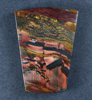 Dramatic Marra Mamba  Cabochon-  Copper Red and Yellow  #17519