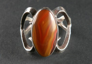 Laguna Agate and Sterling Silver Ring