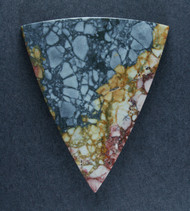 Dramatic Blue Dream/Mescalero Jasper Cabochon    #17563