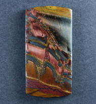 Dramatic Marra Mamba  Cabochon-  Copper Red and Yellow  #17573