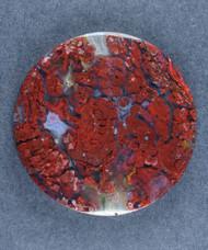 Colorful Sonoran Plume Agate Designer Cabochon  #17578