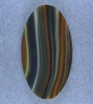 Amazing!! Dramatic Piranha Agate Designer Cabochon #17598