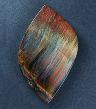 Dramatic Marra Mamba  Cabochon -  Rare Cobalt Blue, Red and Yellow   #17607