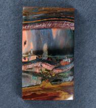 Dramatic Marra Mamba  Cabochon -  Rare Cobalt Blue, Red, Yellow   #17622
